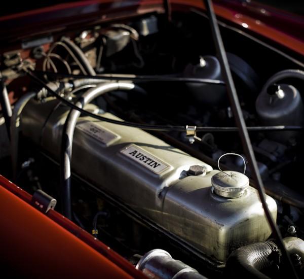 Austin Healey 3000 / Restauration Voiture