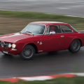 Alfa romeo coupe bertone rouge